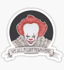 Pennywise (we all float down here) Sticker