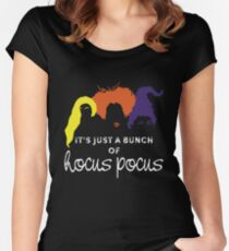 It's just a bunch of hocus pocus Women's Fitted Scoop T-Shirt