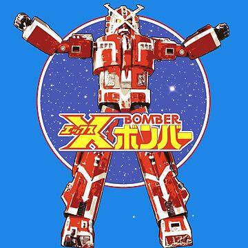 X Bomber - Retro J Style by bubblemunki