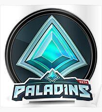 Paladins official logo Poster