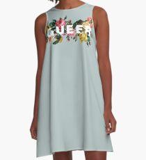 Queer (Antique Roses) A-Line Dress