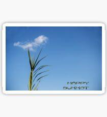 Happy Sukkot greeting card Sticker