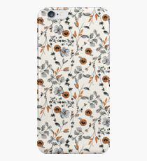 Orange Flower Pattern iPhone 6s Case