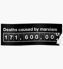 Marxism death ticker Poster
