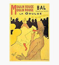 HENRI DE TOULOUSE LAUTREC, MOULIN ROUGE, POSTER Photographic Print