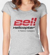 Bell Helicopter Women's Fitted Scoop T-Shirt
