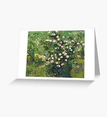 Vincent van Gogh - Roses, 1889  Greeting Card