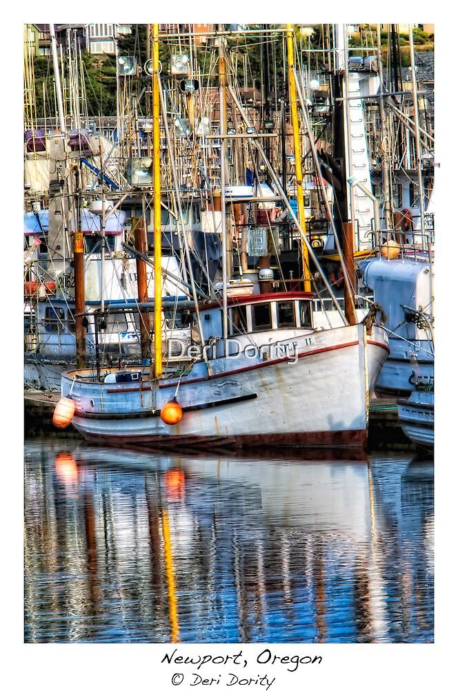 Yaquina Bay Fleet by Deri Dority