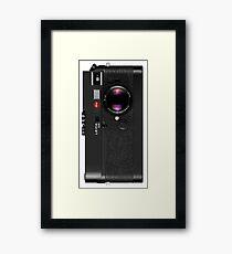 Leica M6 - Black Framed Print