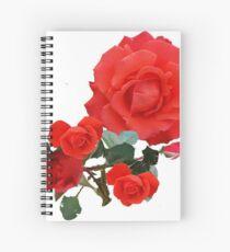 Stornoway Roses Spiral Notebook