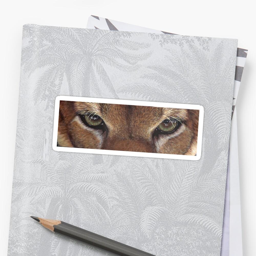 Cougar Eyes T-shirt by artbyakiko