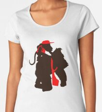 DK and Diddy (large print) Women's Premium T-Shirt