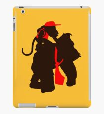DK and Diddy (large print) iPad Case/Skin
