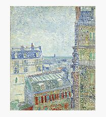 Van Gogh - View from Theo's Apartment, 1887  Photographic Print