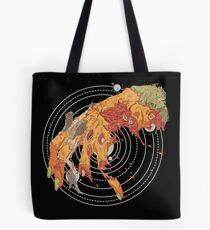 Space Hand Tote Bag