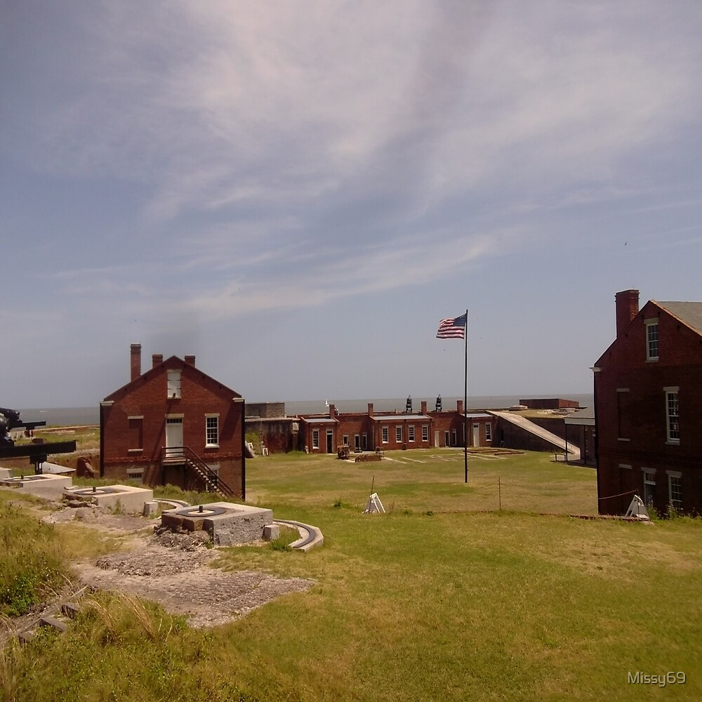 Historical Civil War Fort by Missy69