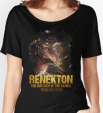 League of Legends RENEKTON - The Butcher Of The Sands Women's Relaxed Fit T-Shirt