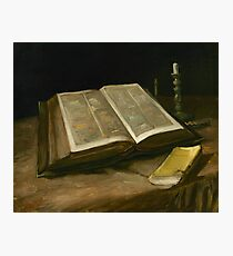 Vincent van Gogh - Still life with Bible, 1885  Photographic Print
