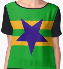 Browncoat (Independents) Flag - Inverted Star Women's Chiffon Top