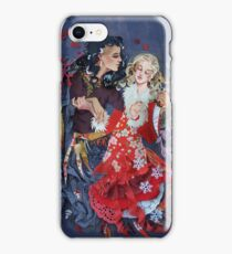 Gerda and the Robber girl iPhone Case/Skin