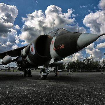 german aircraft, harrier jagdbomber by hottehue