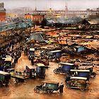City - Boston Ma - The Great Molasses Flood 1919  by Michael Savad