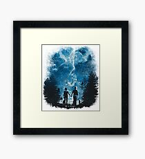 the storm of life 2 Framed Print