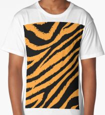 Tiger Stripe Long T-Shirt
