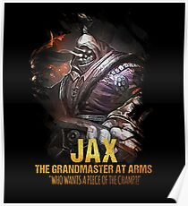 League of Legends JAX - The Grandmaster At Arms Poster
