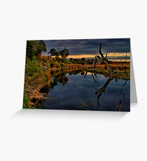 """""""Beside Still Waters"""" Greeting Card"""
