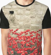Tower Poppies 02A Graphic T-Shirt