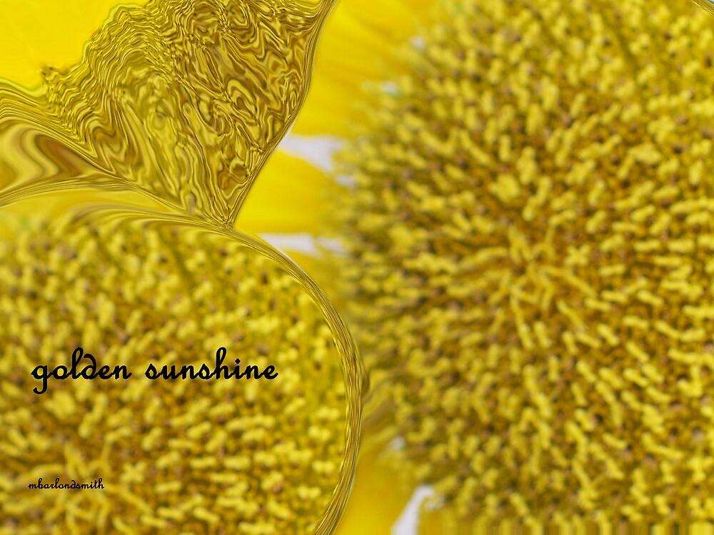 golden sunshine by Michelle BarlondSmith