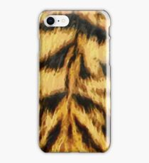 Painted Tiger Pattern iPhone Case/Skin