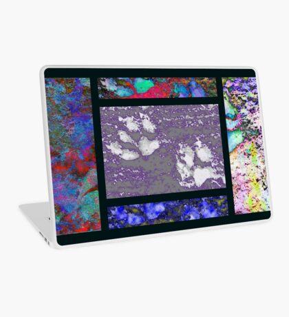 Framed Paw Prints Laptop Skin