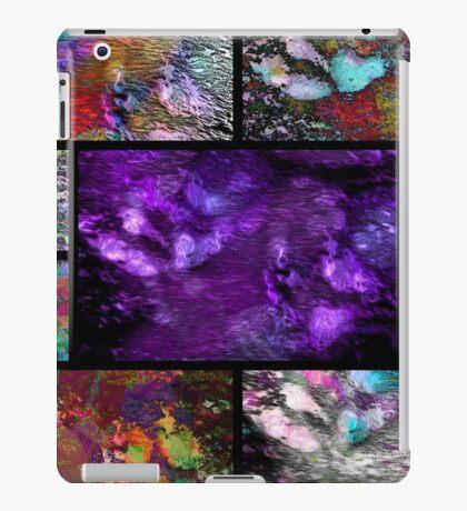 Crazy Paw Print Collage iPad Case/Skin