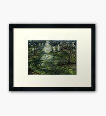 The Dead Marshes Framed Print
