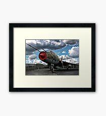 german aircraft, jagdbomber Framed Print