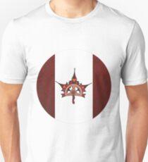 Steampunk / Victorian Canadian Flag T-Shirt