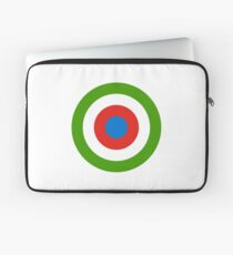 Roundel of Equatorial Guinea Air Force  Laptop Sleeve