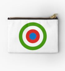 Roundel of Equatorial Guinea Air Force  Zipper Pouch