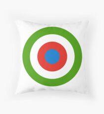 Roundel of Equatorial Guinea Air Force  Throw Pillow