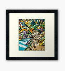 VALLEY 9 OF THE SPIRIT WORLD Framed Print
