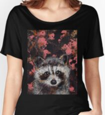 Baby Raccoon Women's Relaxed Fit T-Shirt