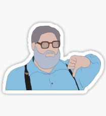 Thumbs Down Guy Sticker