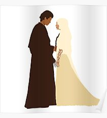 Anakin and Padme Poster