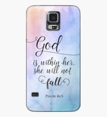 God Is Within Her Christian Art Design Case/Skin for Samsung Galaxy