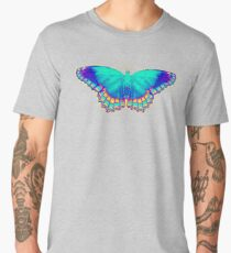Colorful Butterfly Men's Premium T-Shirt