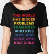 The World Has Bigger Problems  Women's Relaxed Fit T-Shirt