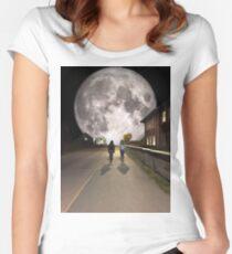 Moonwalk Women's Fitted Scoop T-Shirt