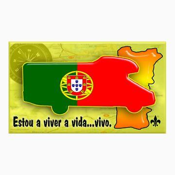 Autocaravana com Bandeira Portuguesa by JotaEme
